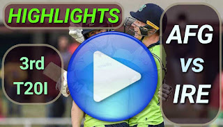 AFF vs IRE 3rd T20I 2020