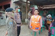 Bersama Tim Gabungan Polres Purwakarta Tingkatkan Disiplin Protkes
