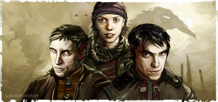 Мор Утопия три персонажа