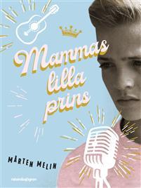 En ung Elvis på bokomslaget.