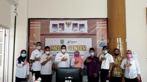 Tim KKS Propinsi Kunjungi Padang Pariaman, FKS Sampaikan Capaian Target ODF