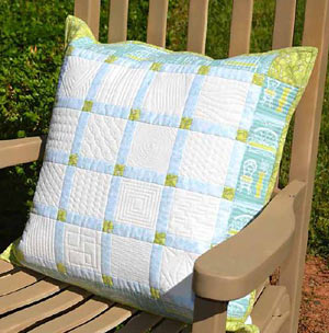 Quilting Tutorials: Free Quilted Pillow Pattern