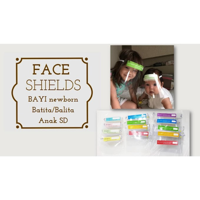 Face Shield Bayi & Anak