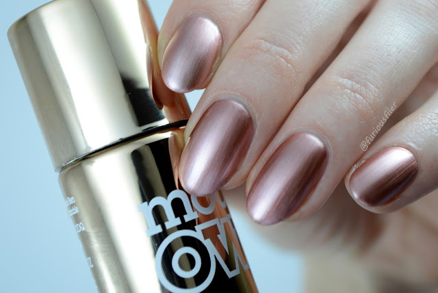 models own chrome rose swatch metallic furious filer