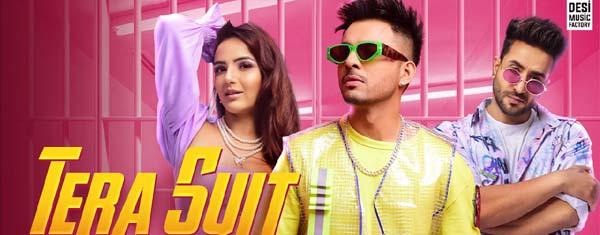 Tera Suit Lyrics - Tony Kakkar, Aly Goni, Jasmin Bhasin | Holi Song 2021
