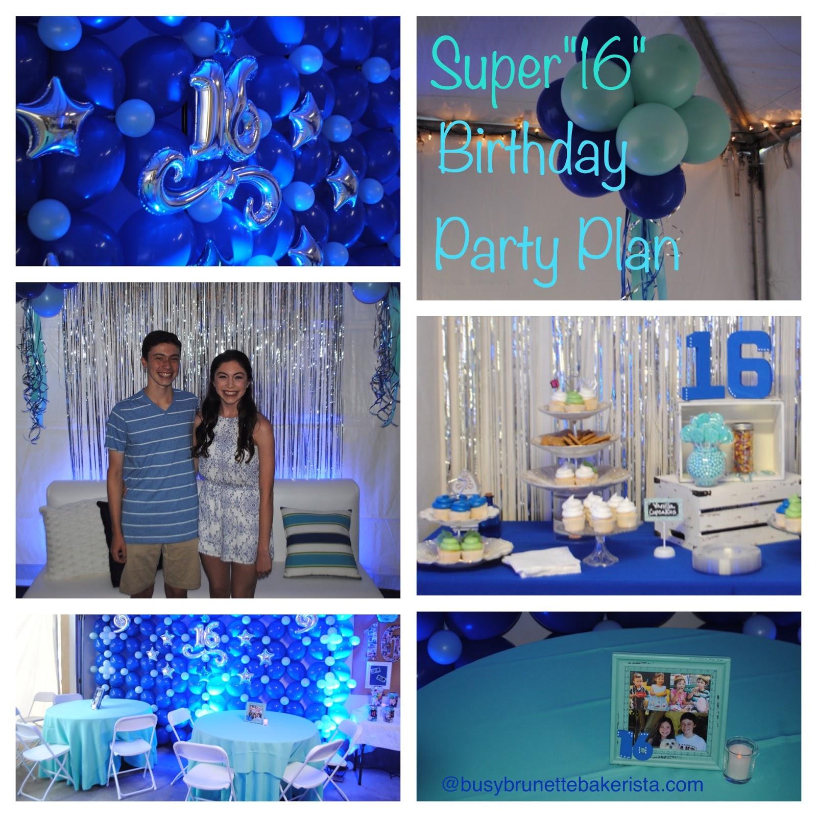 Super Sixteenth Birthday Party