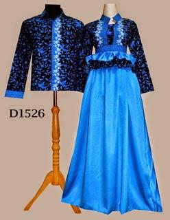 Model Baju Batik Couple Dress