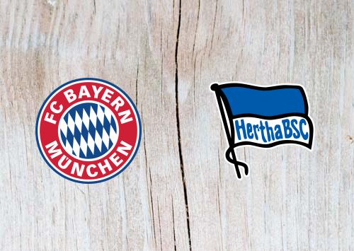 Bayern Munich vs Hertha Berlin Full Match & Highlights 23 February 2019