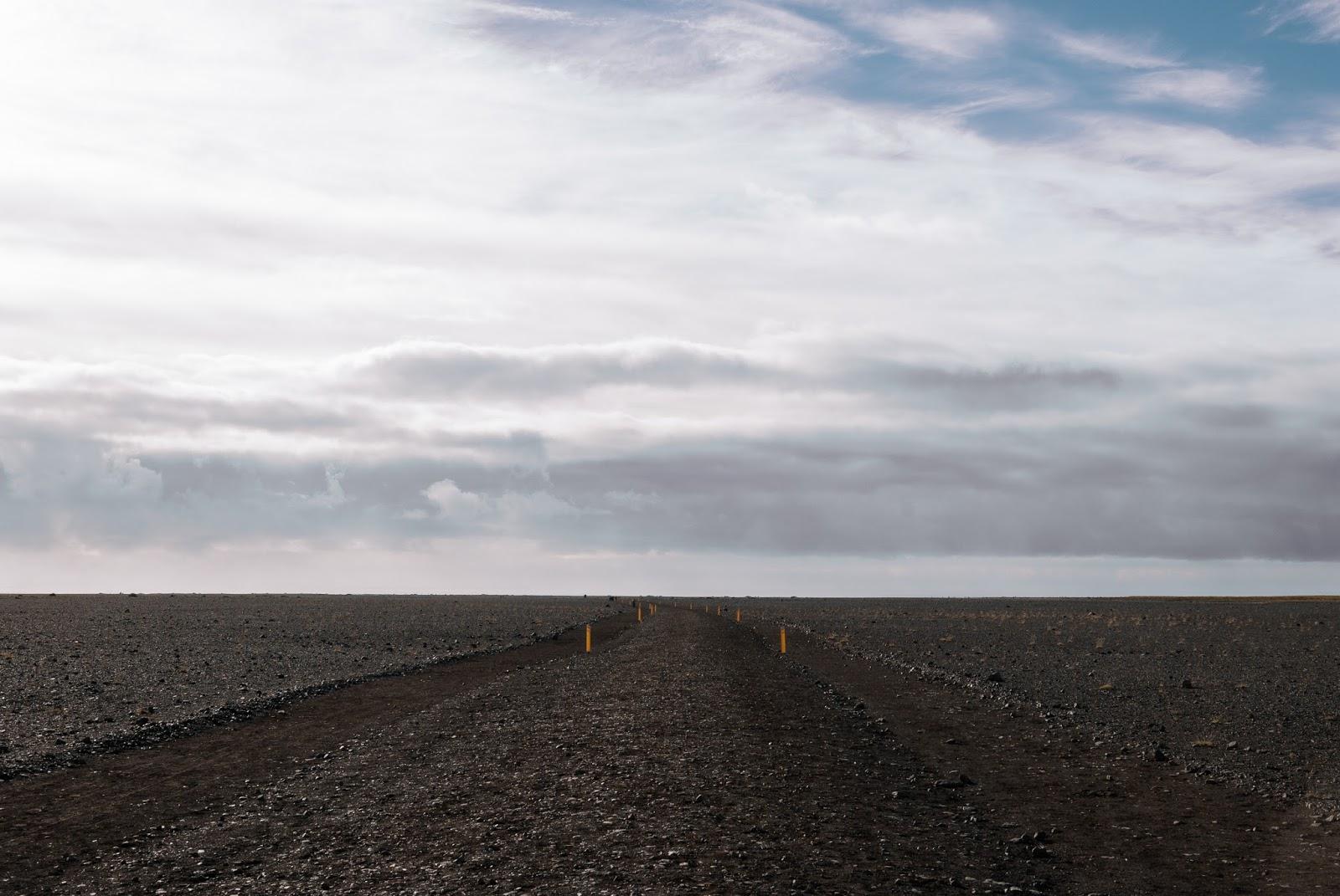Islandia, Dakota, wrak, droga