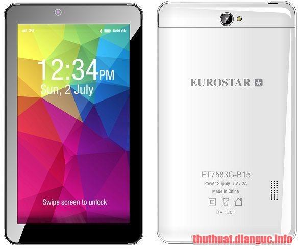 ROM stock EUROSTAR ET7583G-B15 (MT6572) flashtool ok