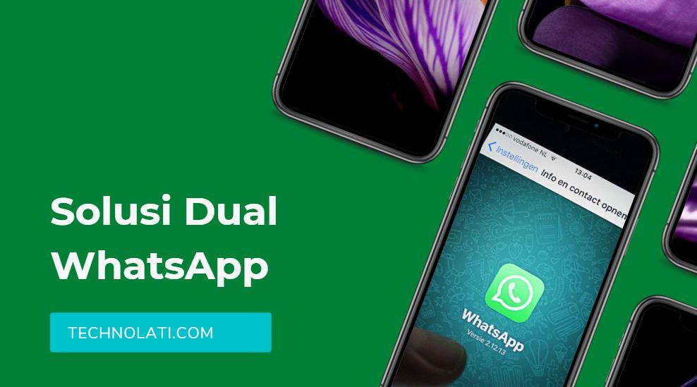 cara pakai dua fm whatsapp dan original di satu hp