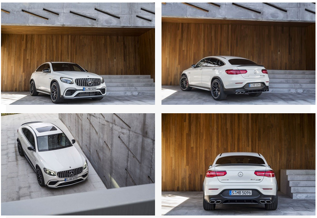 2018 Mercedes Benz AMG GLC63 S Coupe Exterior