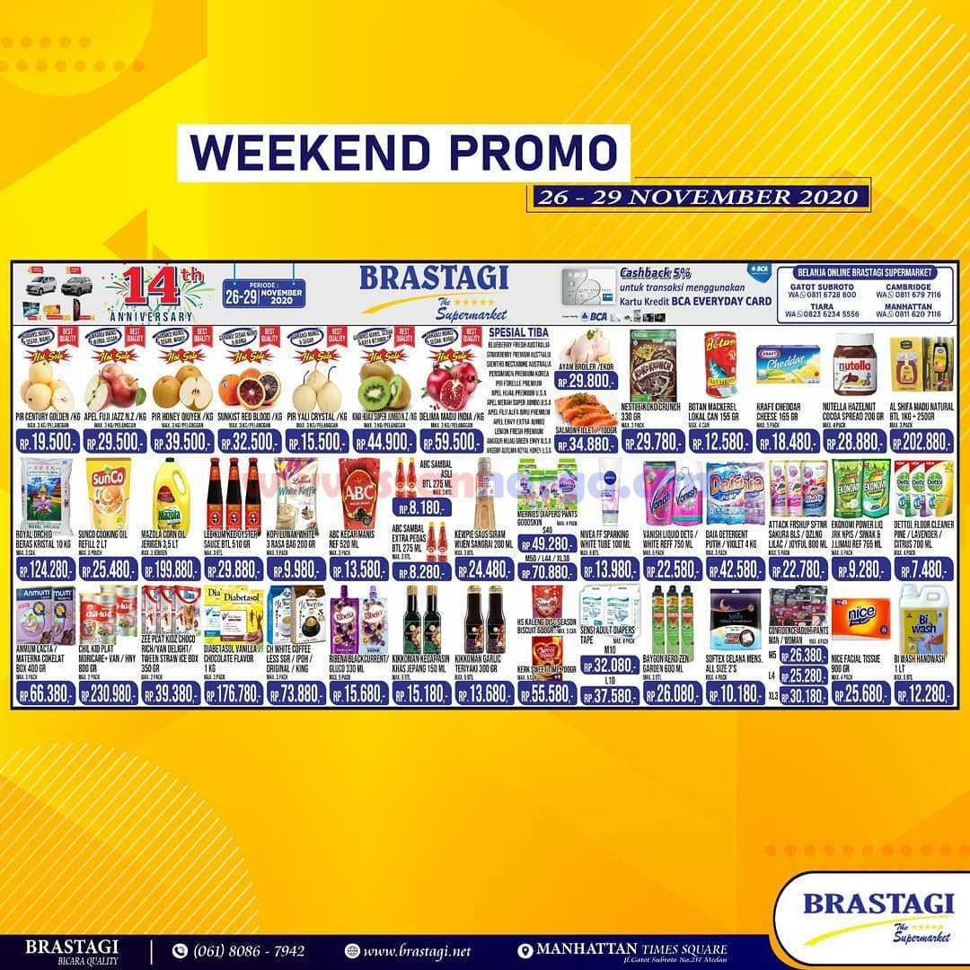 Katalog Promo JSM Brastagi Weekend 26 - 29 November 2020