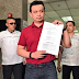 Trillanes files Plunder charges vs. Gordon in the Ombudsman