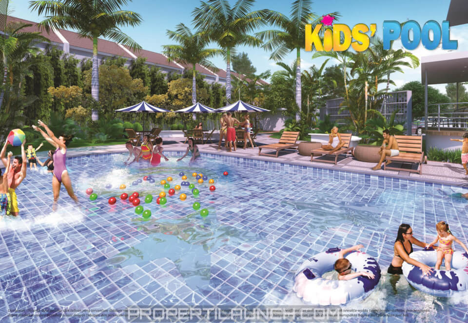 Kid's Pool Paradise Serpong City