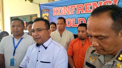 Polda Jambi Tangkap DPO SMB Jambi