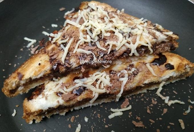चॉकलेट सँडविच | chocolate Sandwich in Marathi
