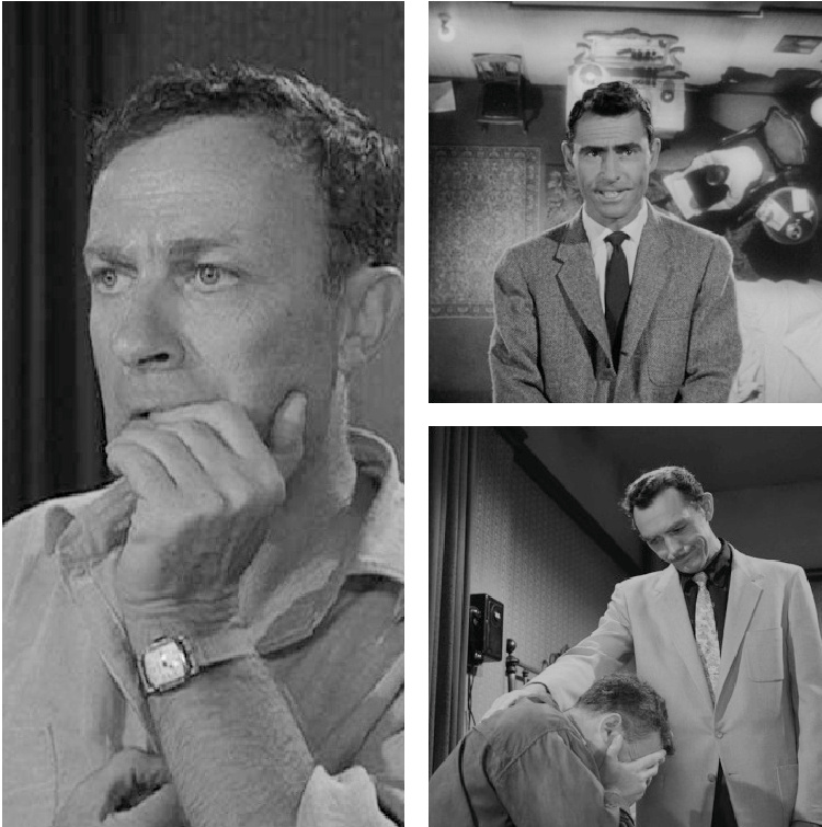 A Vintage Nerd, Vintage Blog, Twilight Zone Show Review, Twilight Zone Inspiration, Classic TV Blog, Nervous Man in a Four Dollar Room