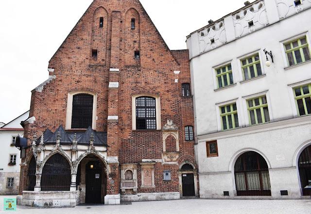 Iglesia de Santa Bárbara en Plac Mariacki, Cracovia