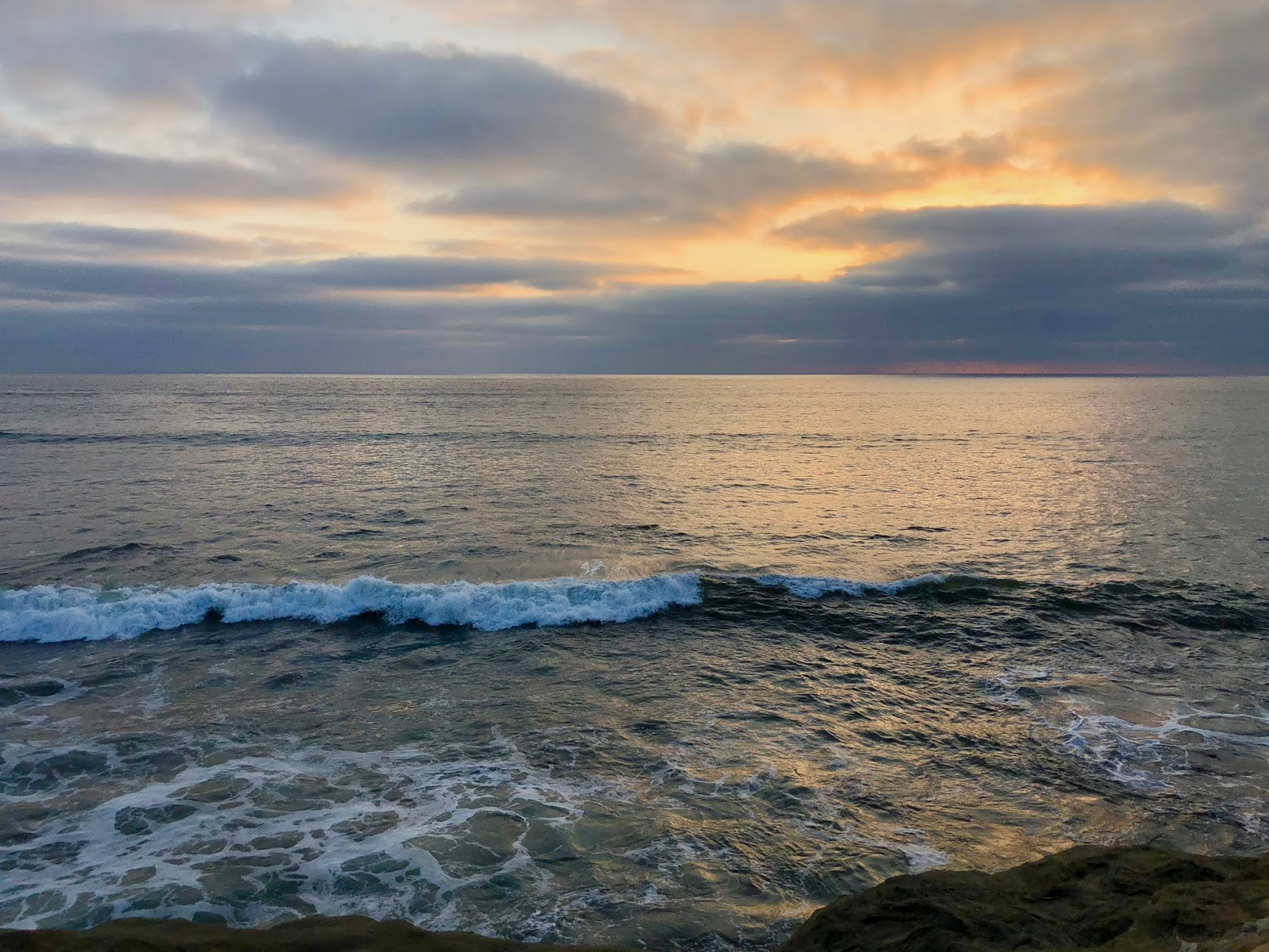 Sunset Cliffs, San Diego, California, August 2018