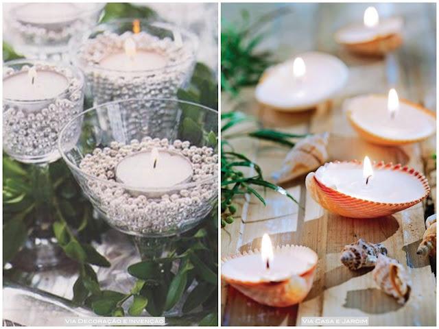 decoração simples casamento