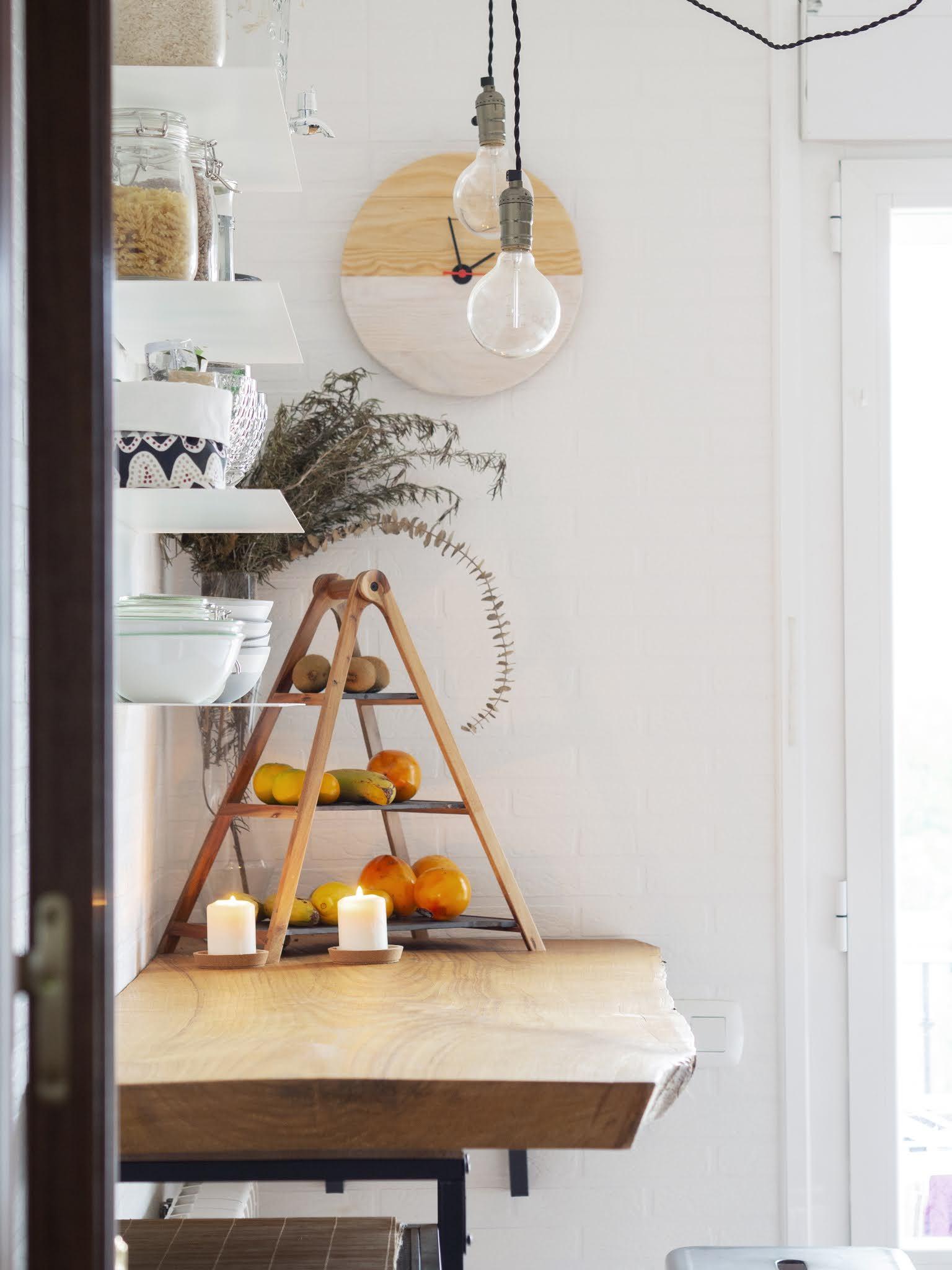 DIY Reloj de madera para nuestra cocina16