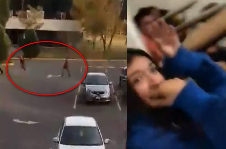 """""""¡Van a tirar, cállense!"""": Así se vivió el terror durante fuerte enfrentamiento en Universidad Michoacana; dejó un sicario abatido y cuatro detenidos"""