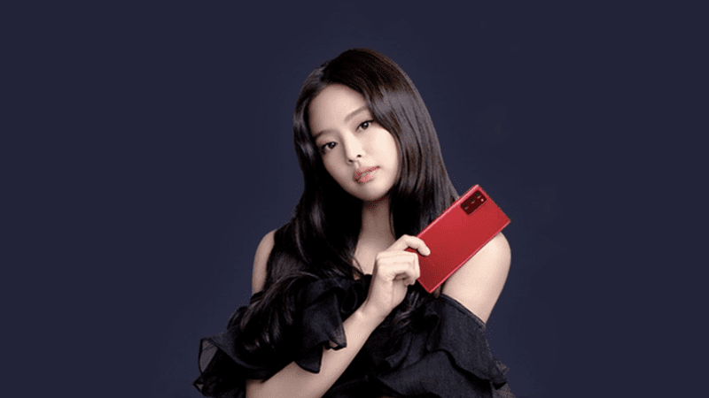 Samsung has a special edition Galaxy Note20/Note20 Ultra Jennie RED colorway