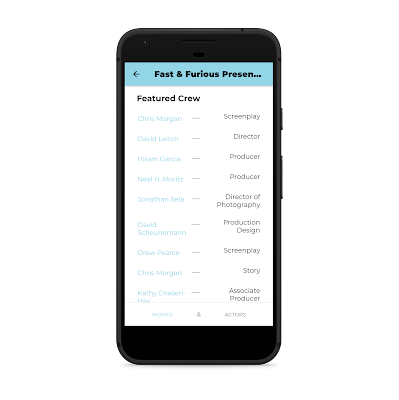 The film Data Base Ionic Android Application - 7