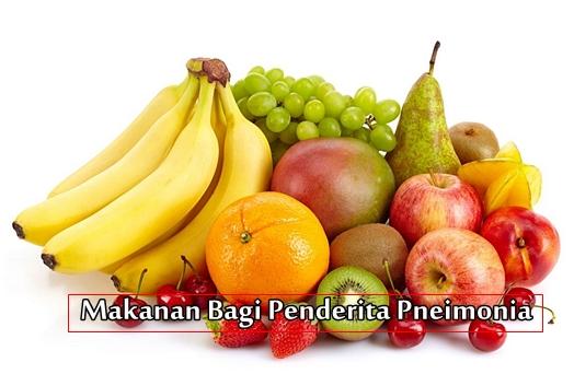 Makanan Yang Dianjurkan Untuk Penderita Pneumonia