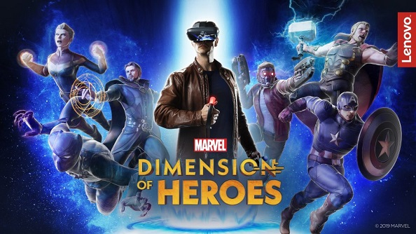 Lenovo Mirage AR - MARVEL Dimension of Heroes AR Game