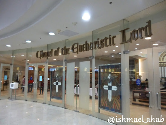 Chapel of the Eucharistic Lord in SM Megamall