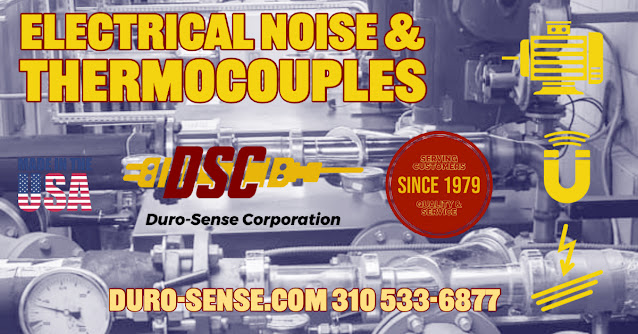 Noise in Thermocouple Installations