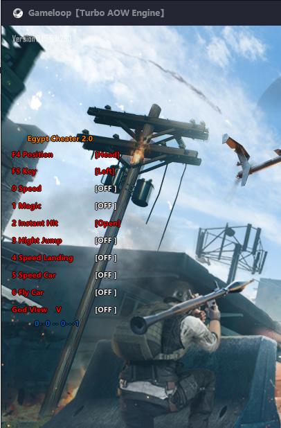 Egypt 2.0 Super Magic Bullet, High Jump, Esp ... Pubg  Mobile 0.15.5