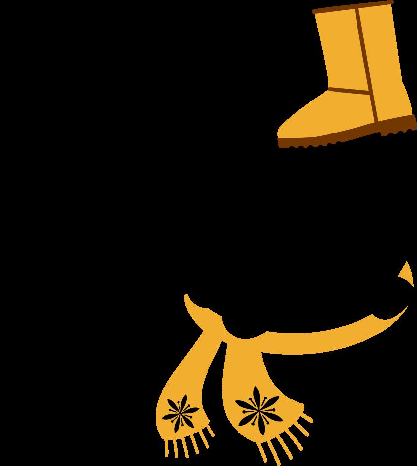 Coats and Boots Season SVG File
