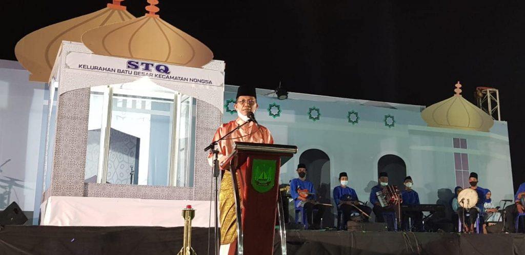 Walikota Batam Membuka Kegiatan STQ Tingkat Kelurahan Batubesar