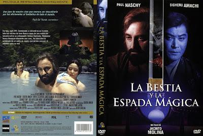 Carátula dvd: La bestia y la espada mágica (1983) La Bestia y los samurais