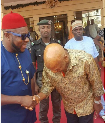 Photos Of Nigeria Billionaire,Arthur Eze Causes Confusion As
