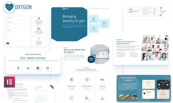 Healthcare Medical Clinic Template