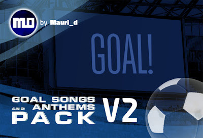 eFootball PES 2020 Goal Song & Anthem Pack V2 by Mauri_d (80 Teams)