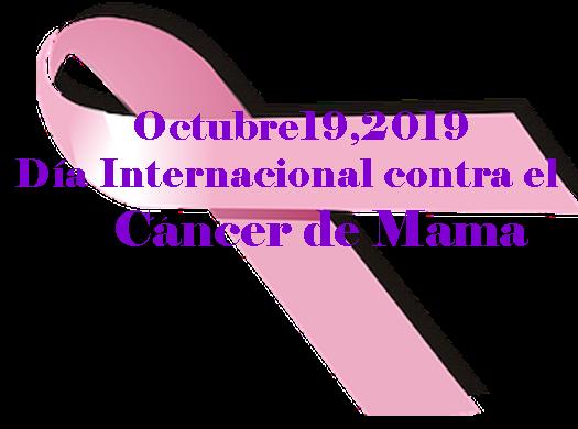 semana de prevención contral el cancer de mama