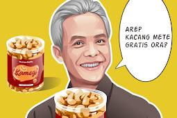 Membuat Vector Pak Ganjar Pranowo sedang promosi produk di Infinite Design PART 2 (Wajah)