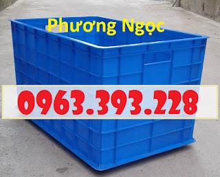 Thùng nhựa 5 bánh xe, thùng nhựa đẩy hàng, thùng nhựa công nghiệp 127c9bf9c49921c77888