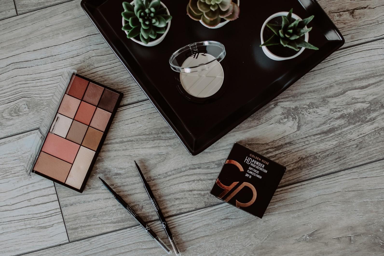 Wielofunkcyjna paleta do makijażu City&Style – Golden Rose