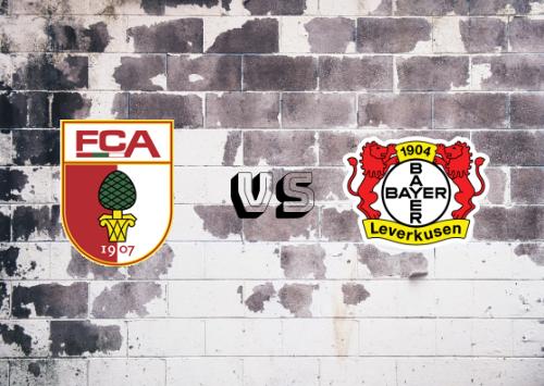 Augsburgo vs Bayer Leverkusen  Resumen