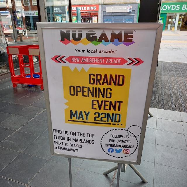Nu Game Arcade in Southampton