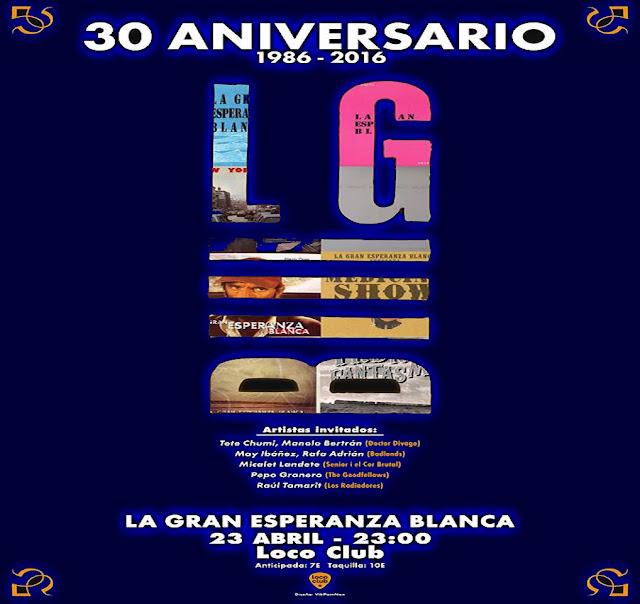 Noticia LA GRAN ESPERANZA BLANCA 30 aniversario