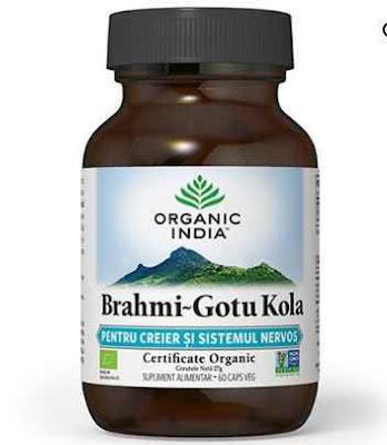 Brahmi Gotu Kola 60cps Organic India pareri forum