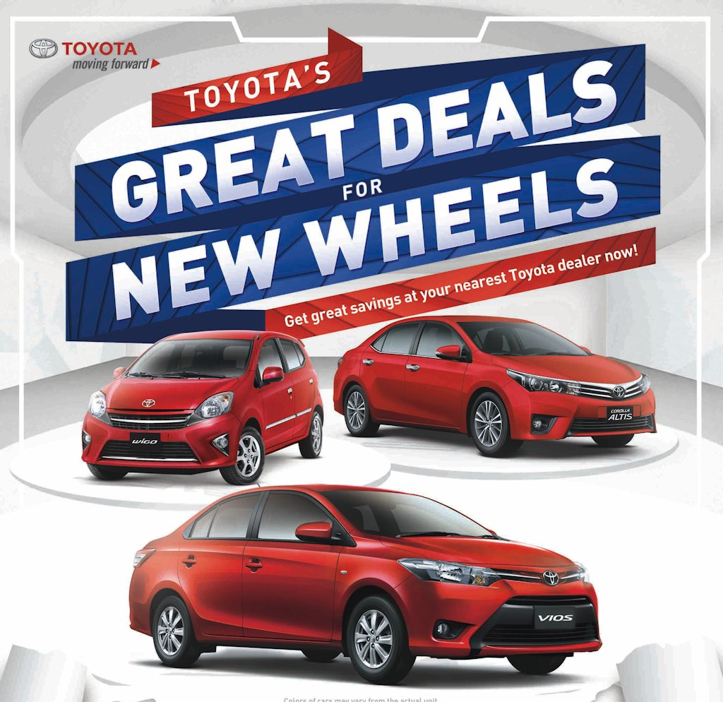 Toyota Motor Philippines Is Offering Great Deals On Wigo