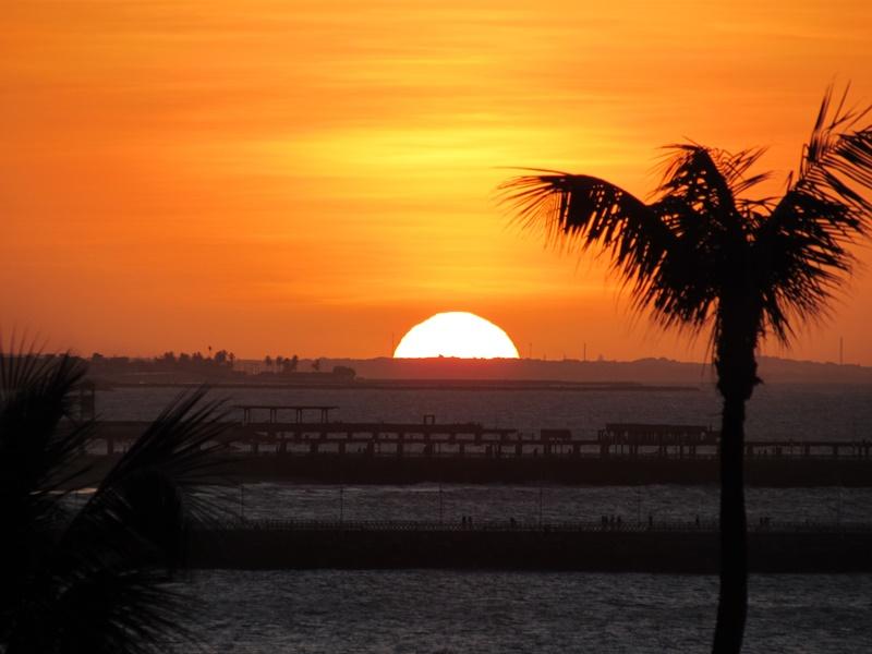 Melhor lugar para ver o Pôr do Sol em Fortaleza